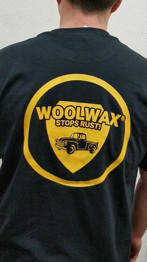 Woolwax® T-shirt. Short Sleeve. Black
