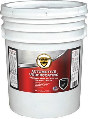 WoolWax® Lanolin Undercoating Five Gallon Pail.  Free Shipping.